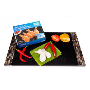 The Upper Scale Frozen Butterfly Style Coated King Prawns (1X500GBAG)