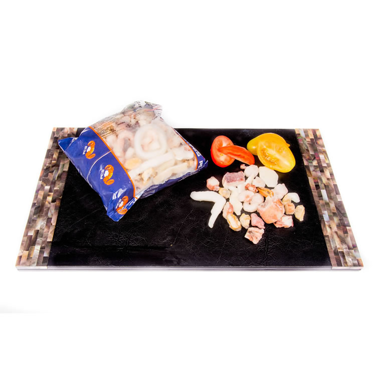 The Upper Scale Frozen Deluxe Seafood Mix (1 x 1KG Bag)