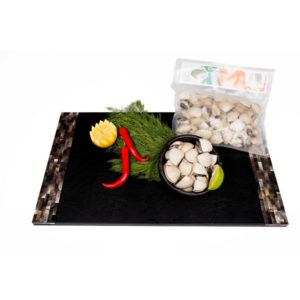 The Upper Scale Frozen White Clam Whole Shell (1X1KG BAG)