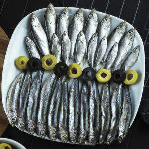 The Upper Scale Frozen Whitebait